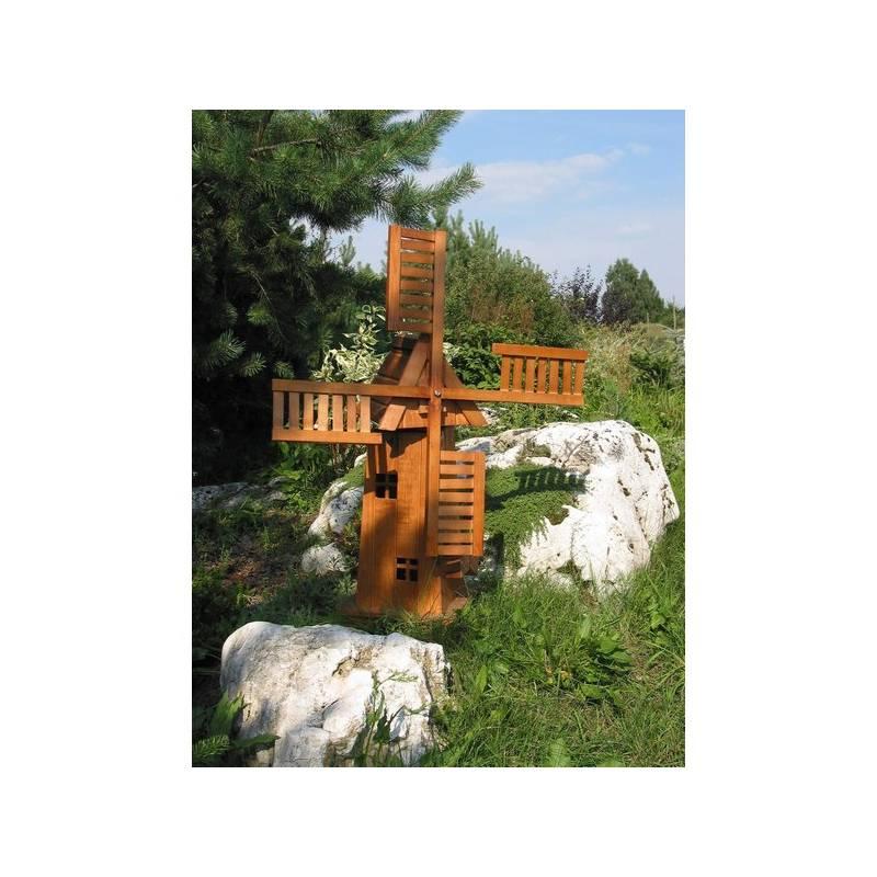 Záhradné dekorácie Rojaplast - větrný mlýn + Doprava zadarmo
