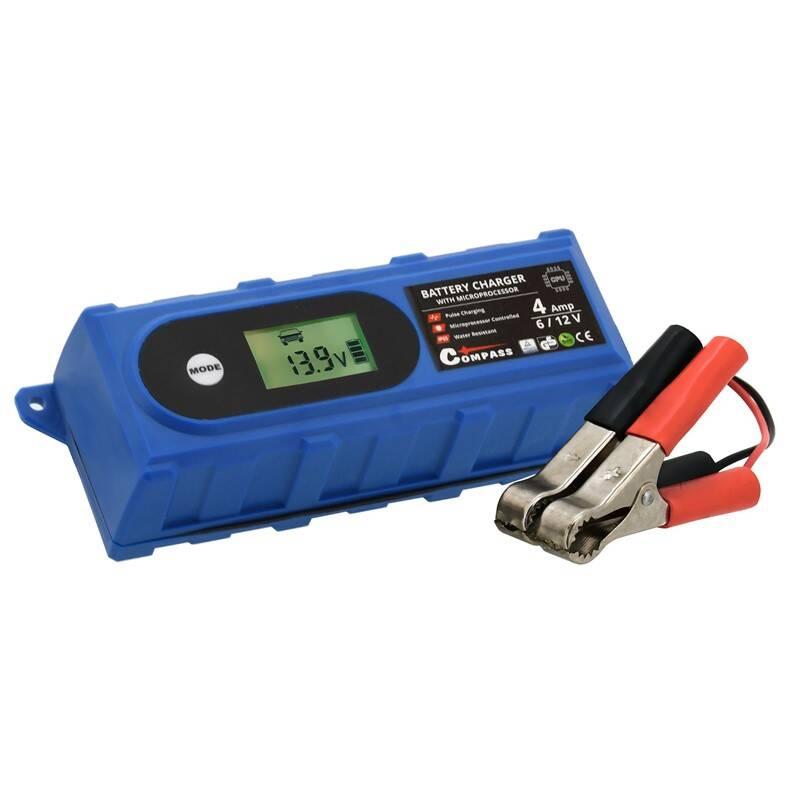 Nabíjačka autobatérií Compass 6/12V, 120 Ah 07146 + Extra zľava 5 % | kód 5HOR2020
