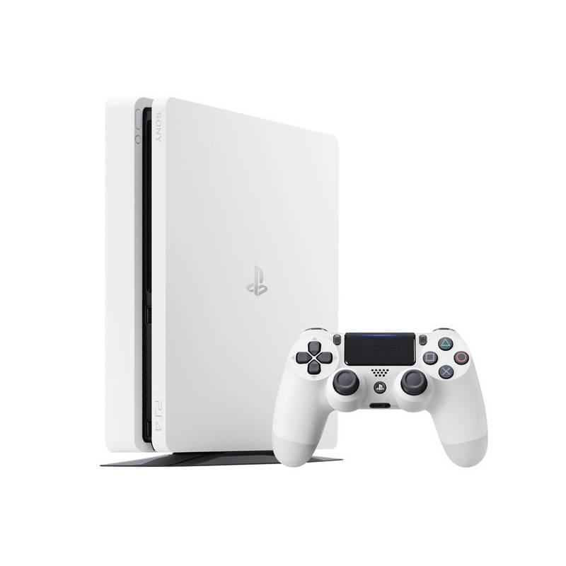 Herná konzola Sony PlayStation 4 SLIM 500GB (PS719894162) biela