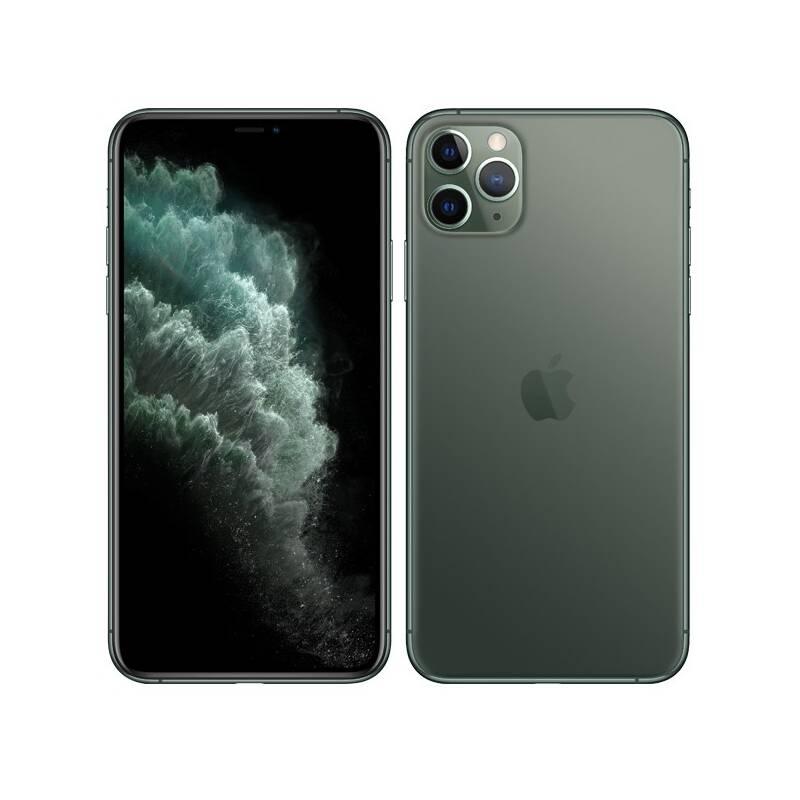Mobilní telefon Apple iPhone 11 Pro Max 512 GB - Midnight Green (MWHR2CN/A)