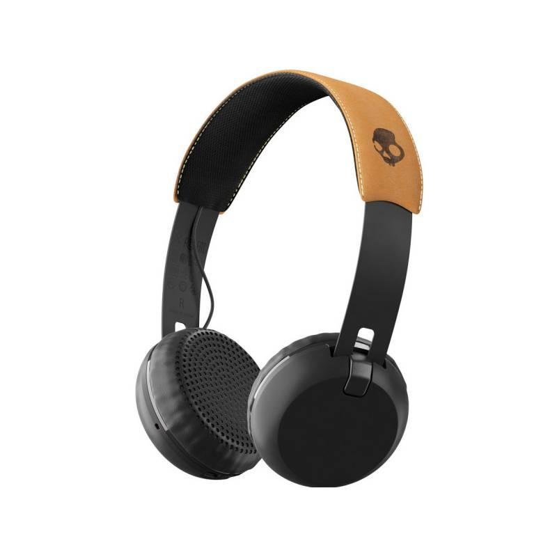 Slúchadlá Skullcandy Grind Wireless (S5GBW-J543) čierna/hnedá + Doprava zadarmo