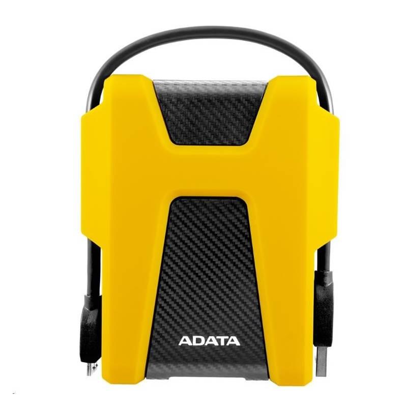 """Externí pevný disk 2,5"""" ADATA HD680 1TB (AHD680-1TU31-CYL) žlutý"""