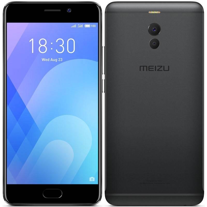 Mobilný telefón Meizu M6 Note (M721H/16GB/Black) čierny