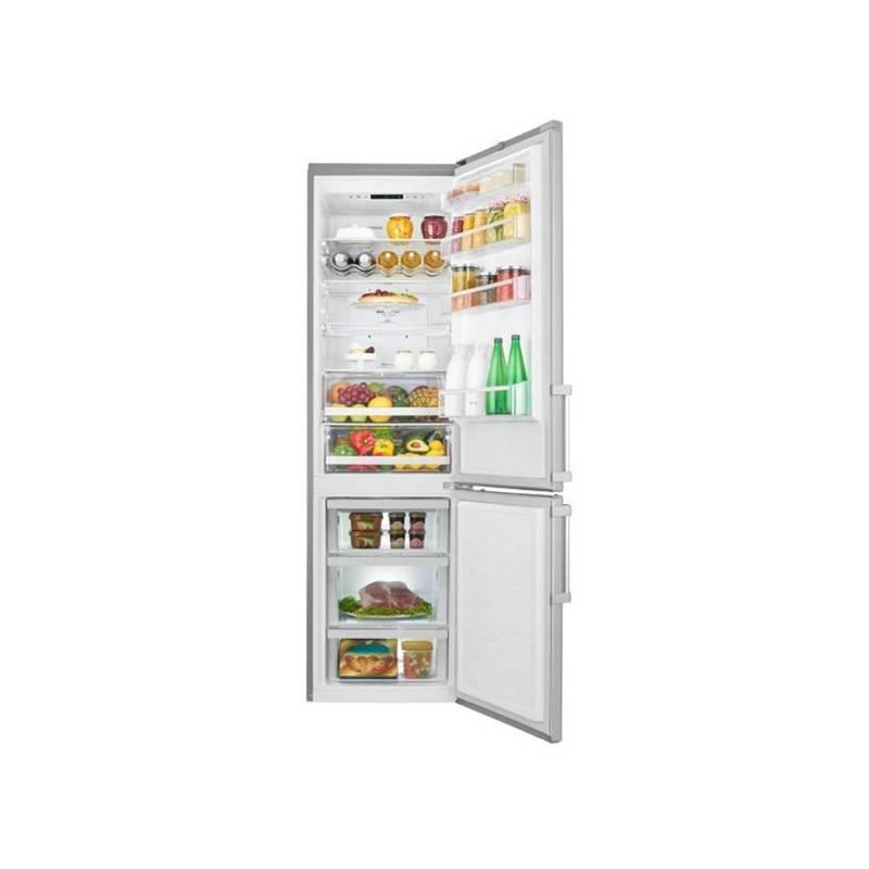 Kombinácia chladničky s mrazničkou LG GBB60NSGFE nerez + Doprava zadarmo