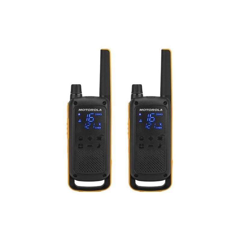 Vysielačky Motorola TLKR T82 Extreme (D8P00811YDEMAG) čierny/žltý