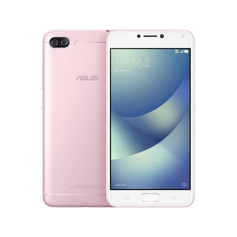 Mobilný telefón Asus ZenFone 4 Max (ZC554KL-4I040WW) (ZC554KL-4I040WW) ružový Software F-Secure SAFE, 3 zařízení / 6 měsíců (zdarma) + Doprava zadarmo