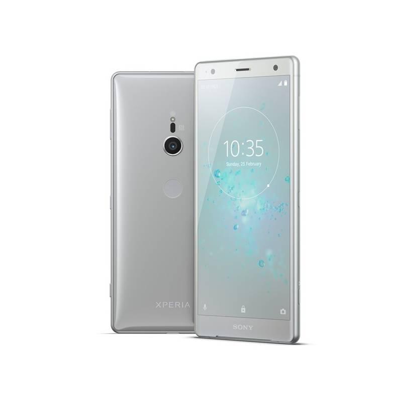 Mobilný telefón Sony Xperia XZ2 (1313-8196) strieborný Software F-Secure SAFE, 3 zařízení / 6 měsíců (zdarma) + Doprava zadarmo