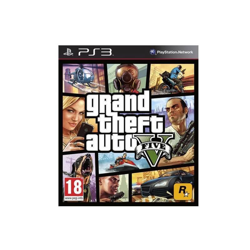 Hra RockStar PlayStation 3 Grand Theft Auto V (428283)
