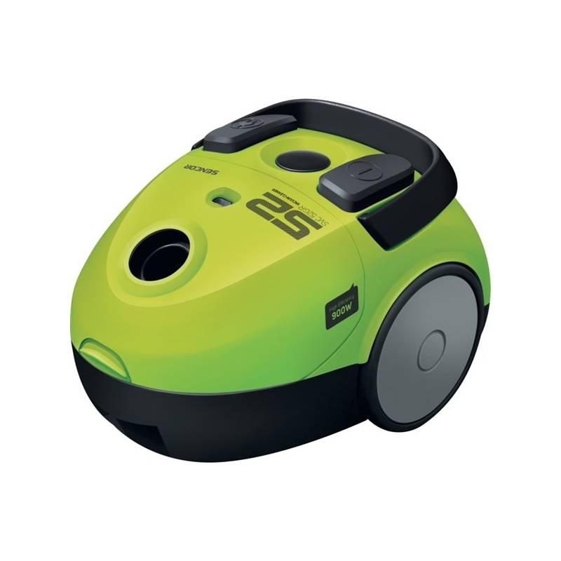 Vysávač podlahový Sencor SVC 52GR-EUE2 zelený