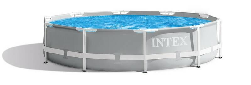 Bazén Intex Prism Frame 3,05 m x 76 cm s kartušovou filtrací (26702NP) + Krycia plachta Intex pro bazény INTEX FRAME POOL prům. 3,05 m (28030) v hodnote 19.90 € + Doprava zadarmo