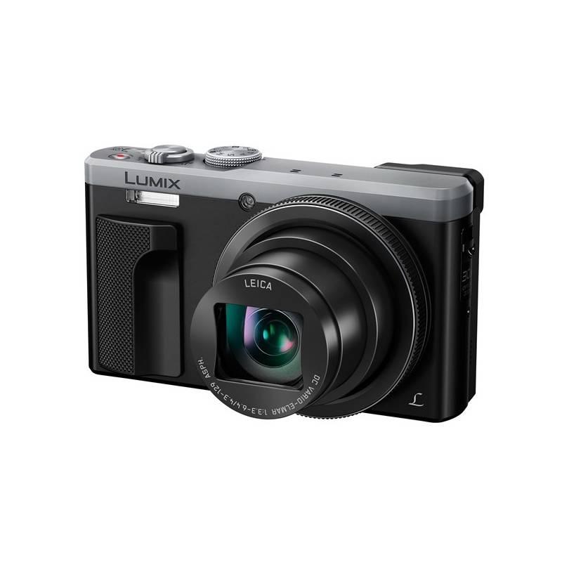 Digitálny fotoaparát Panasonic DMC-TZ80EP-S strieborný + Doprava zadarmo