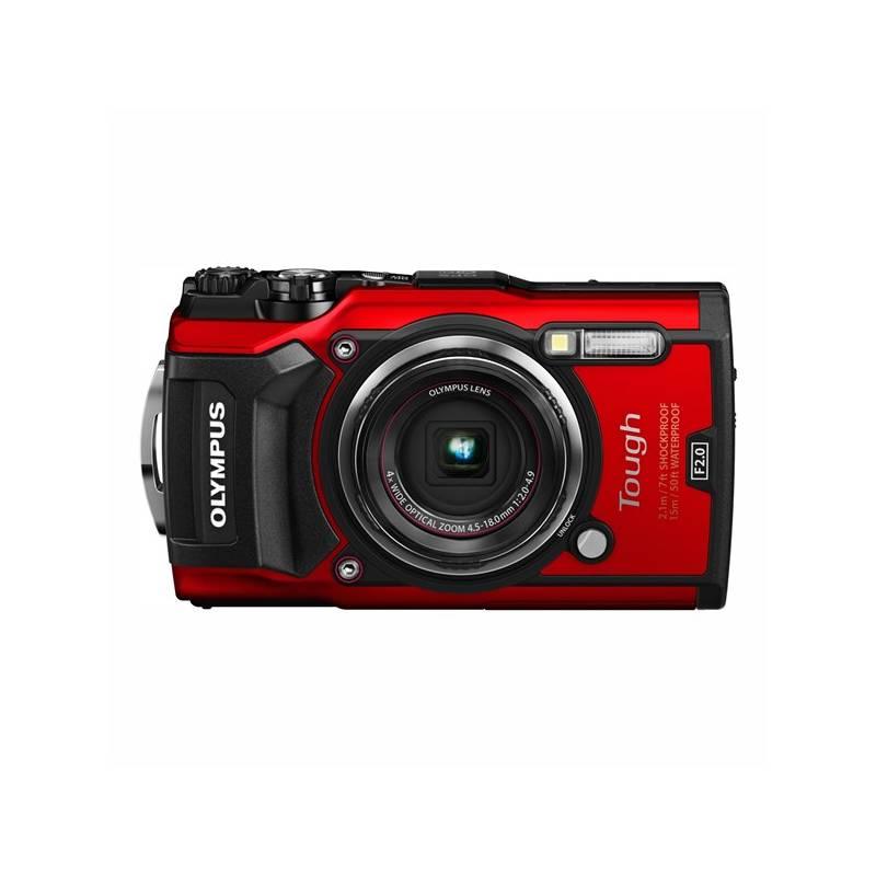 Digitálny fotoaparát Olympus TG-5 (4545350051112) červený + Doprava zadarmo