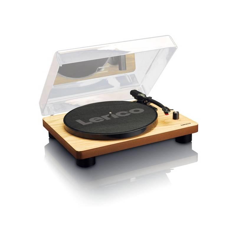 Gramofón Lenco LS-50 (ls50wd) drevený