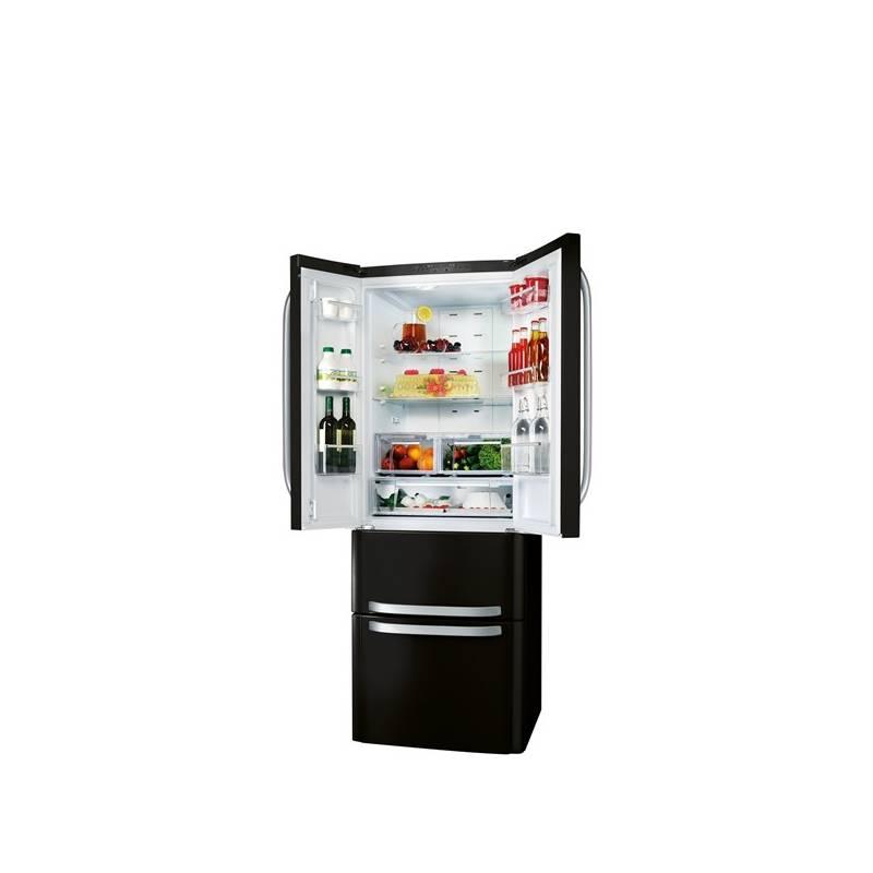 Kombinácia chladničky s mrazničkou Hotpoint-Ariston Quadrio E4D AAA B C čierna + Doprava zadarmo