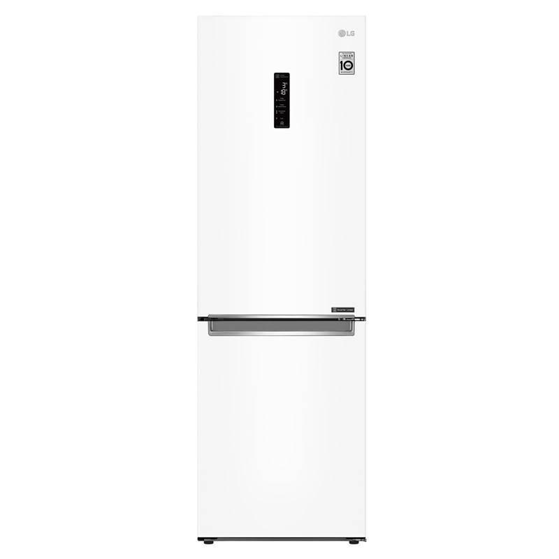 Chladnička s mrazničkou LG GBB71SWDZN bílá + LG 10 let záruka na Lineární kompresor