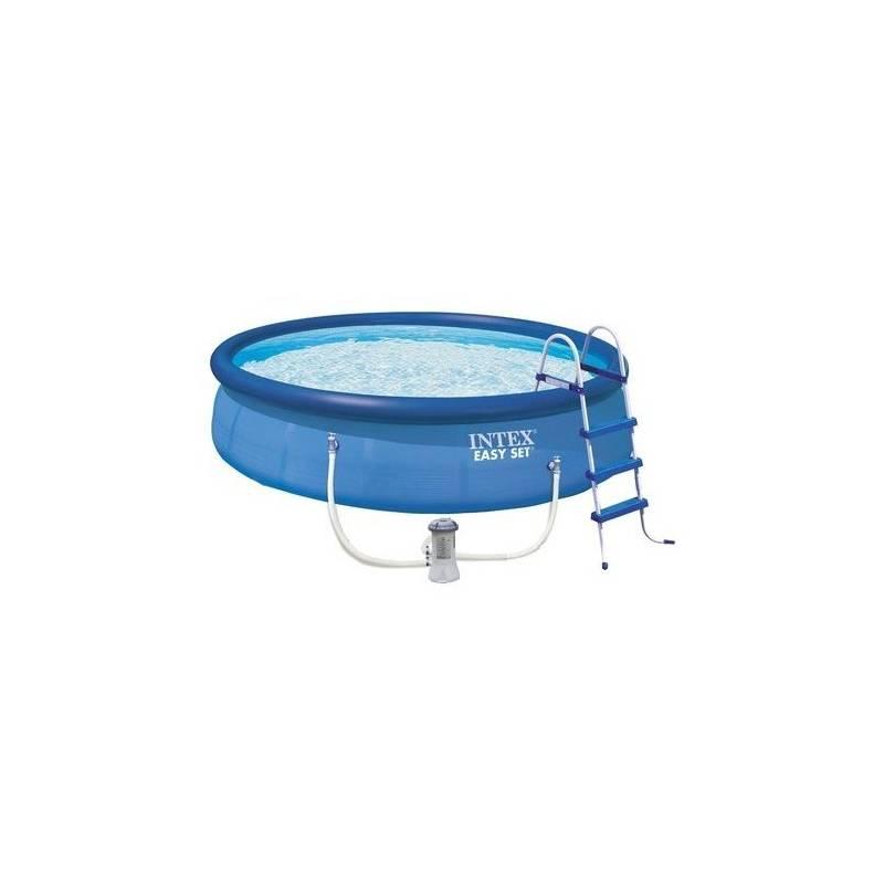 Bazén Intex Easy Set 4,57x1,07 m, kartušová filtrace 3,8 m3/h, 28166NP + Doprava zadarmo