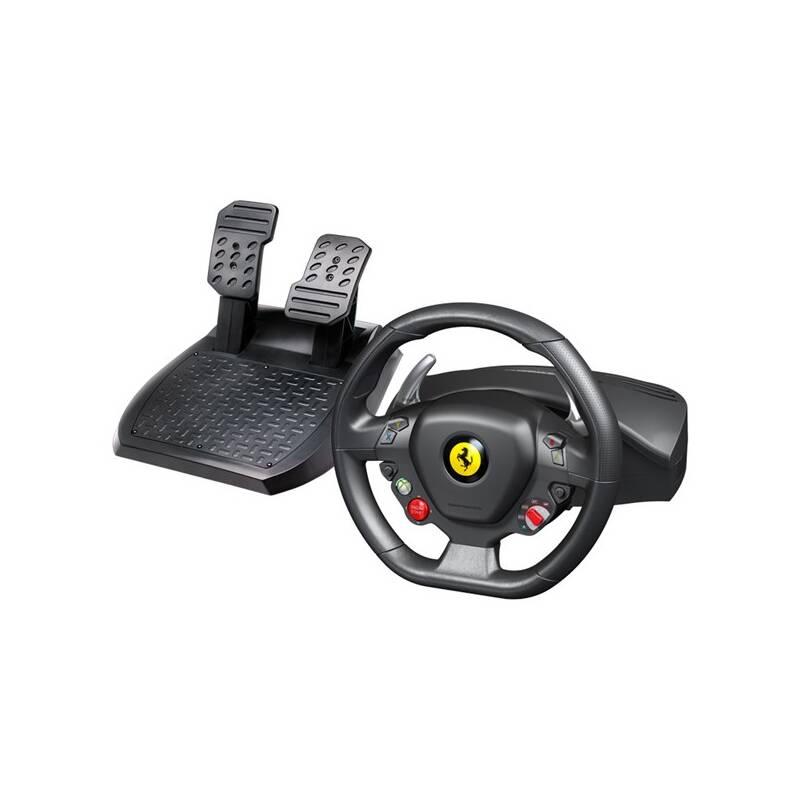 Volant Thrustmaster Ferrari 458 Italia pro PC, Xbox 360 + pedály (4460094) čierny/červený
