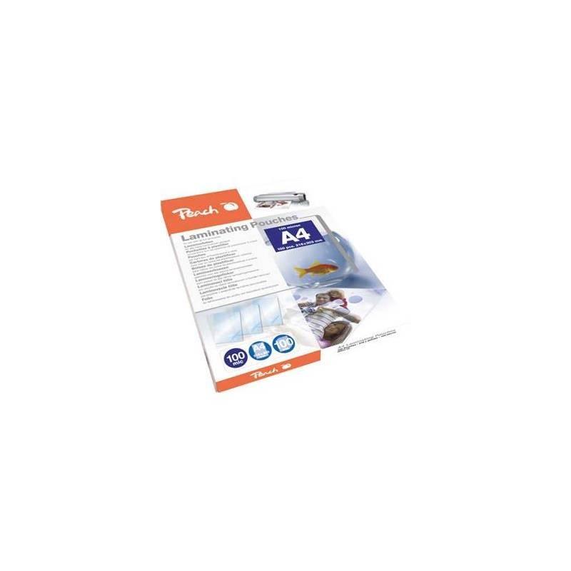 Laminovacie fólie Peach A4 (216x303mm), 100mic, 100pck/BAL (PP500-02) priehľadná