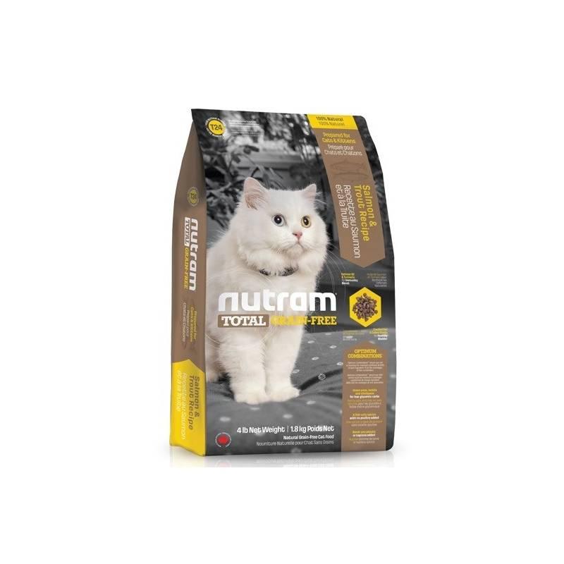 Granule NUTRAM Total Grain Free Salmon, Trout Cat 6,8 kg