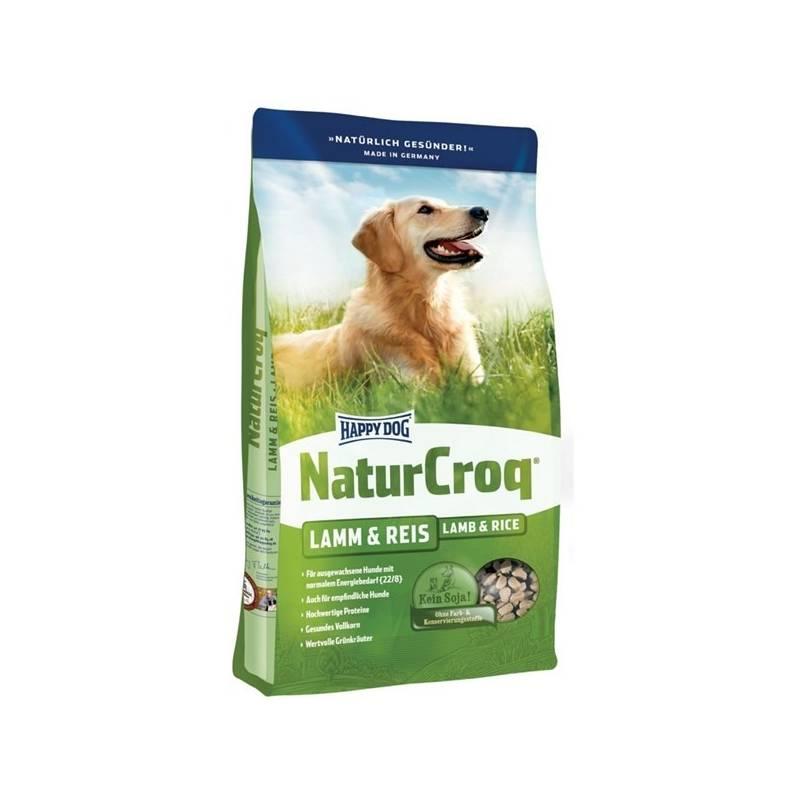 Granule HAPPY DOG Natur-Croq ADULT Lamm&Rice 15 kg + Antiparazitní obojek Scalibor Protectorband pro psy - 48 cm v hodnote 12.00 €