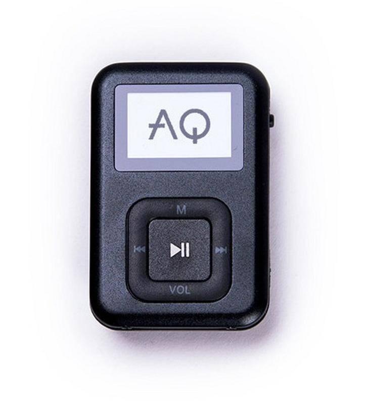 MP3 prehrávač AQ MP01BK (6mp01bk) čierny