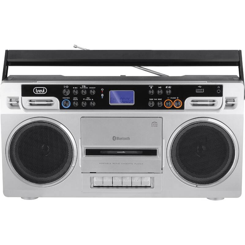 Radiomagnetofon Trevi RR 504 BT stříbrný