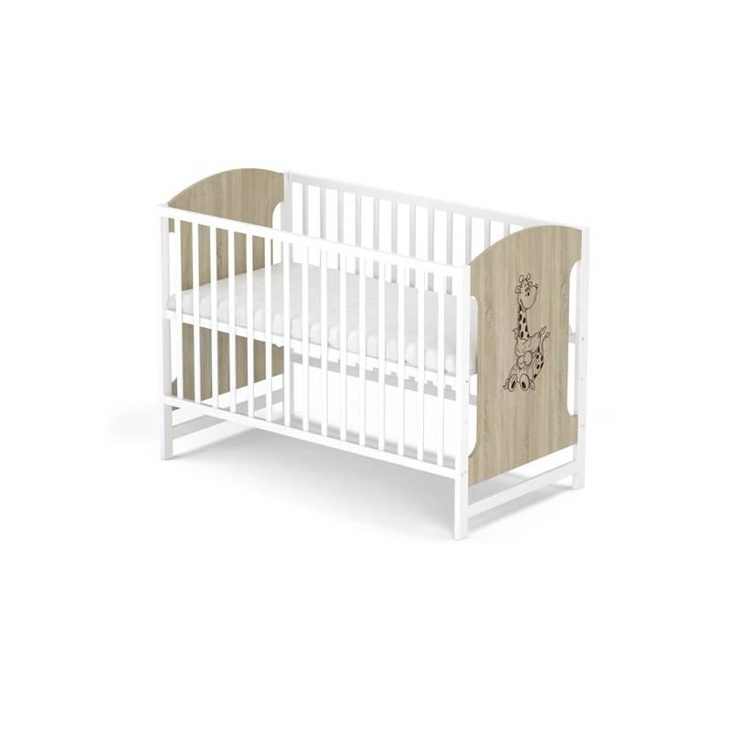 Postieľka detská drevená Baby Sky MIKI 102 dub