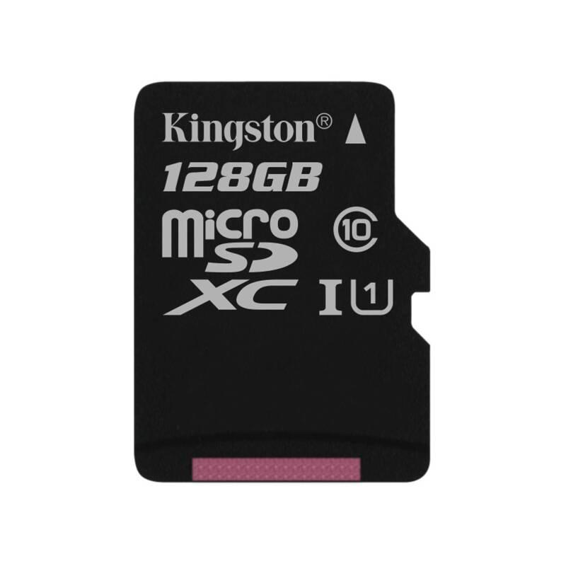 Pamäťová karta Kingston Canvas Select MicroSDXC 128GB UHS-I U1 (80R/10W) (SDCS/128GBSP)