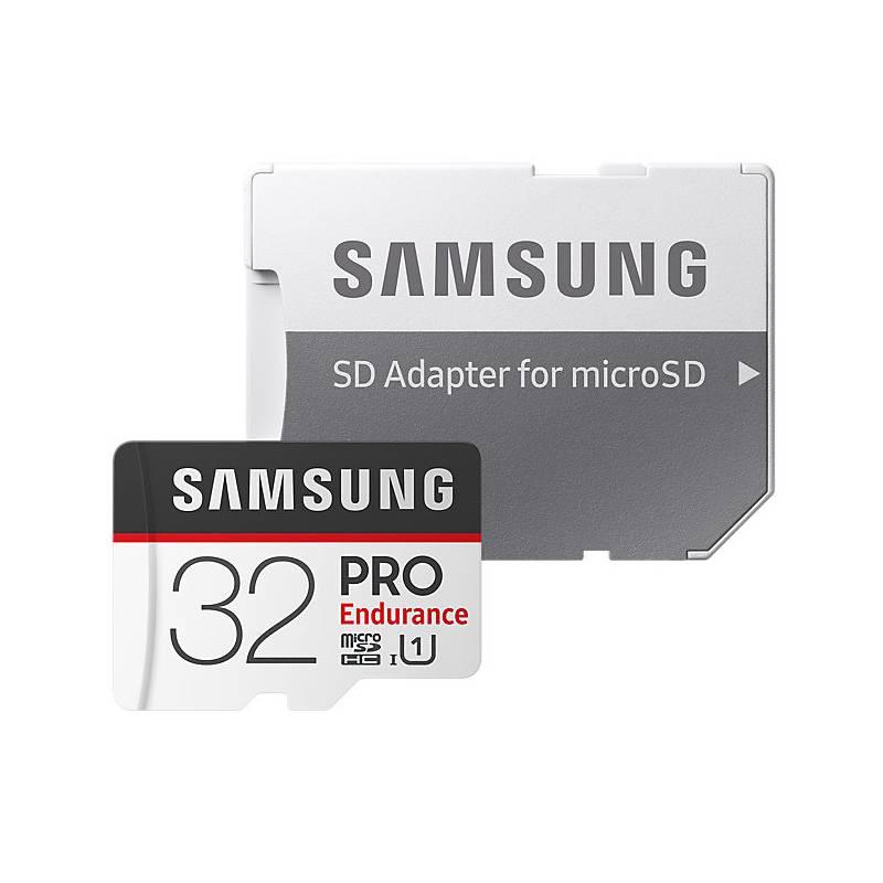 Pamäťová karta Samsung Micro SDHC PRO endurance 32GB UHS-I U1 (100R/30W) + adapter (MB-MJ32GA/EU)