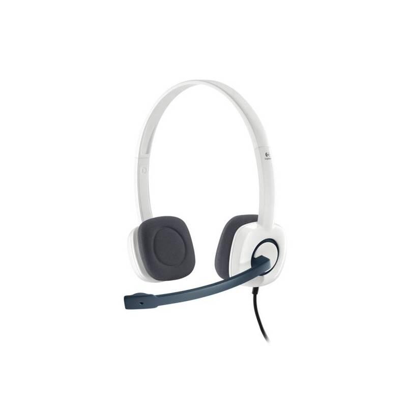 Headset Logitech Stereo H150 - coconut (981-000350)