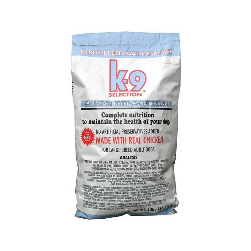 Granule K-9 Maintenance Large Breed 12 kg