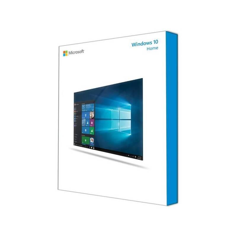 Operačný systém Microsoft Windows 10 Home 64-Bit CZ DVD OEM (KW9-00150)
