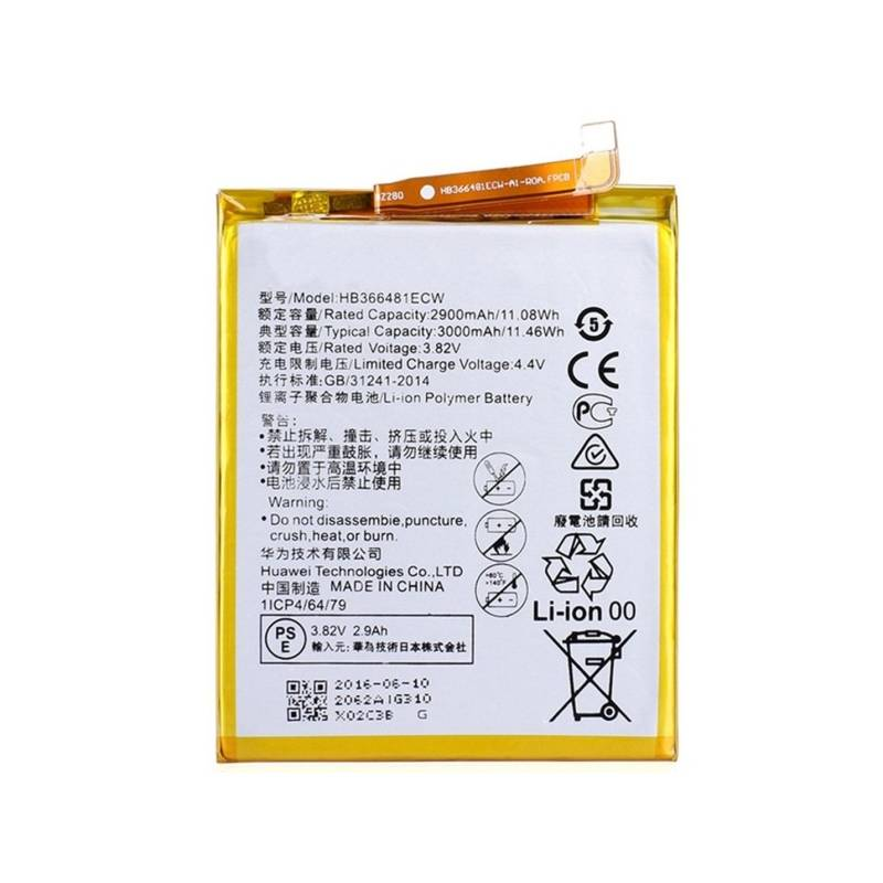 Batéria Huawei pro P9 / P9 Lite, Li-Ion 3,8V 2900mAh - bulk (8595642233319)