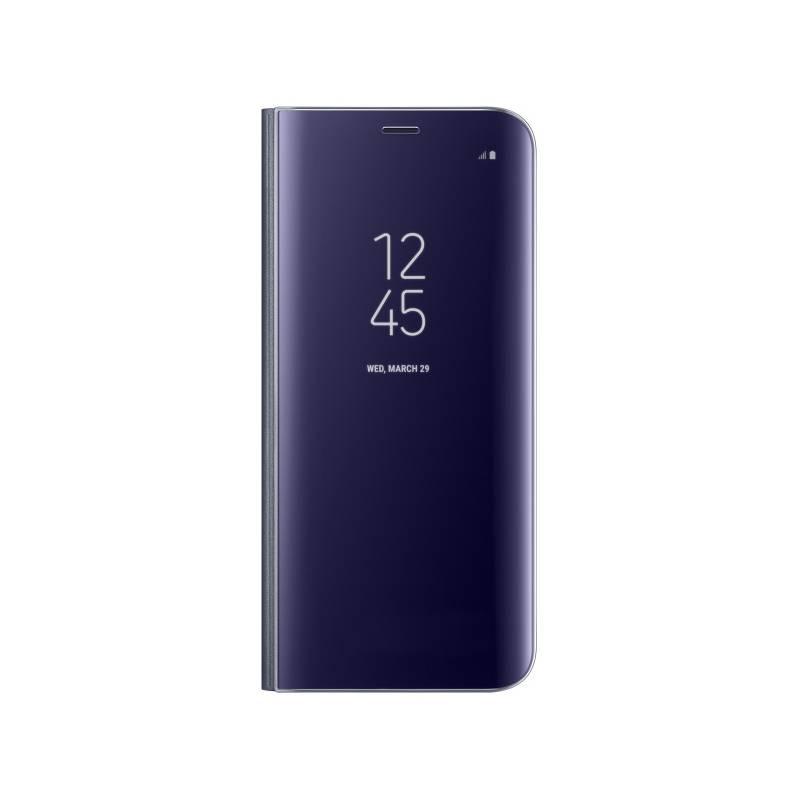 Pouzdro na mobil flipové Samsung Clear View pro Galaxy S8+ (EF-ZG955CVEGWW) fialové
