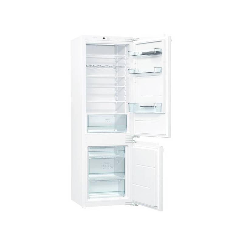 Kombinácia chladničky s mrazničkou Gorenje NRKI5182E1 biela + Doprava zadarmo