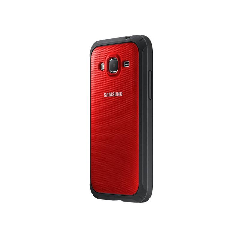 Kryt na mobil Samsung pro Galaxy Core Prime (EF-PG360B) (EF-PG360BREGWW) červený