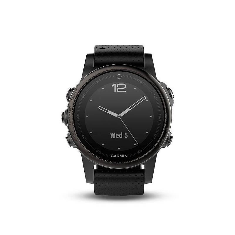 Hodinky Garmin Fenix 5S Sapphire (010-01685-11) čierne/sivé + Doprava zadarmo