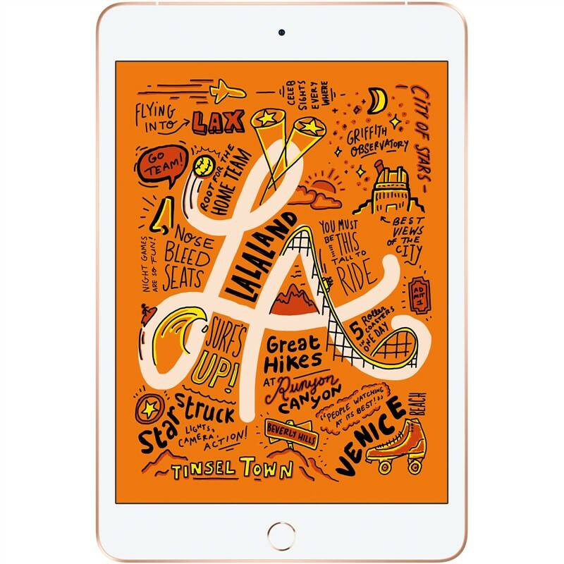 Dotykový tablet Apple iPad mini (2019) Wi-Fi + Cellular 256 GB - Gold (MUXE2FD/A)