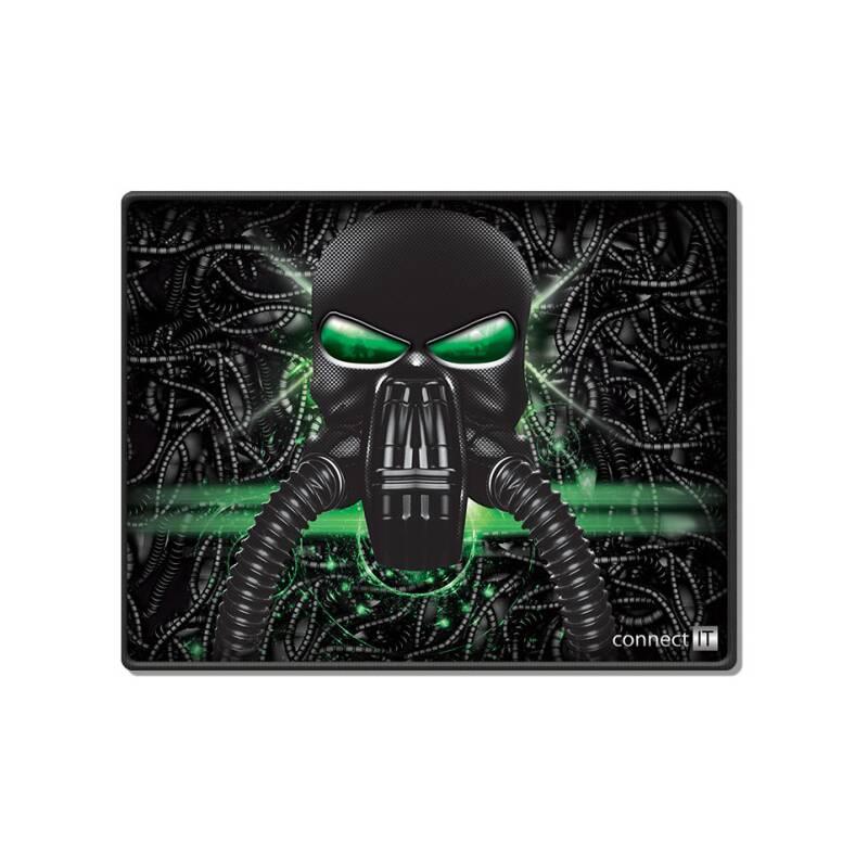 Podložka pod myš Connect IT Battle RNBW malá, 32 x 26 cm (CMP-1100-SM) čierna