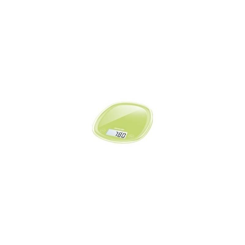 Kuchynská váha Sencor Pastels SKS 37GG zelená