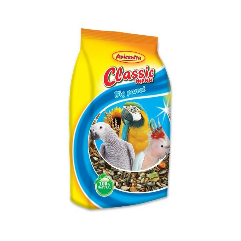 Krmivo Avicentra Veľký papagáj štandard 1 kg