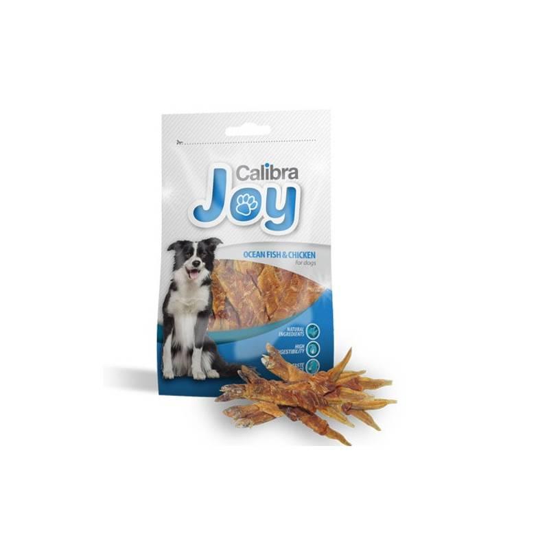 Pochúťka Calibra Joy Dog Ocean Fish & Chicken 80g