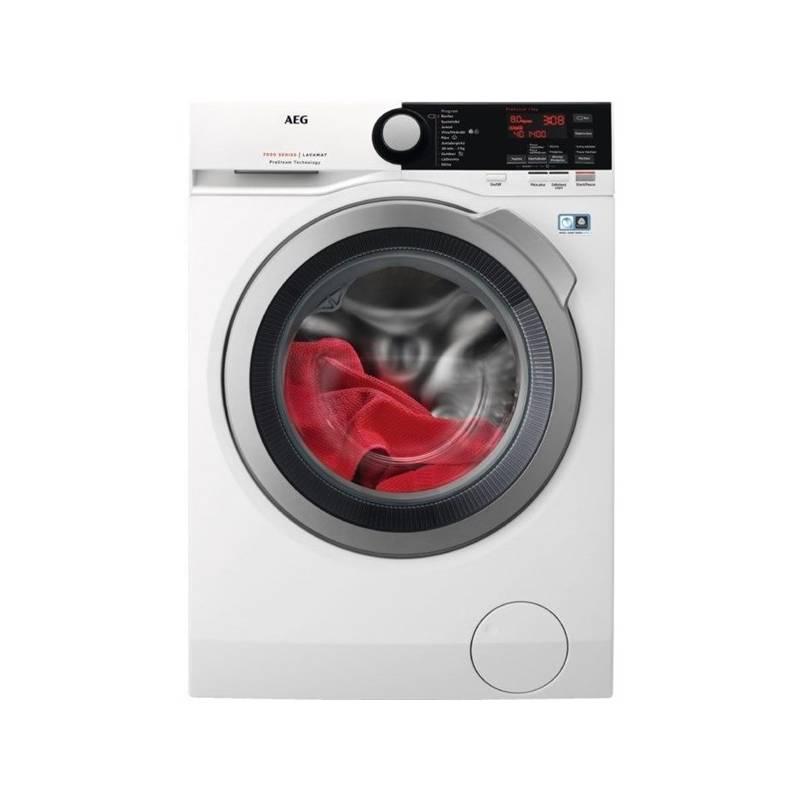 Automatická práčka AEG ProSteam® L7FBE48SC biela + Doprava zadarmo