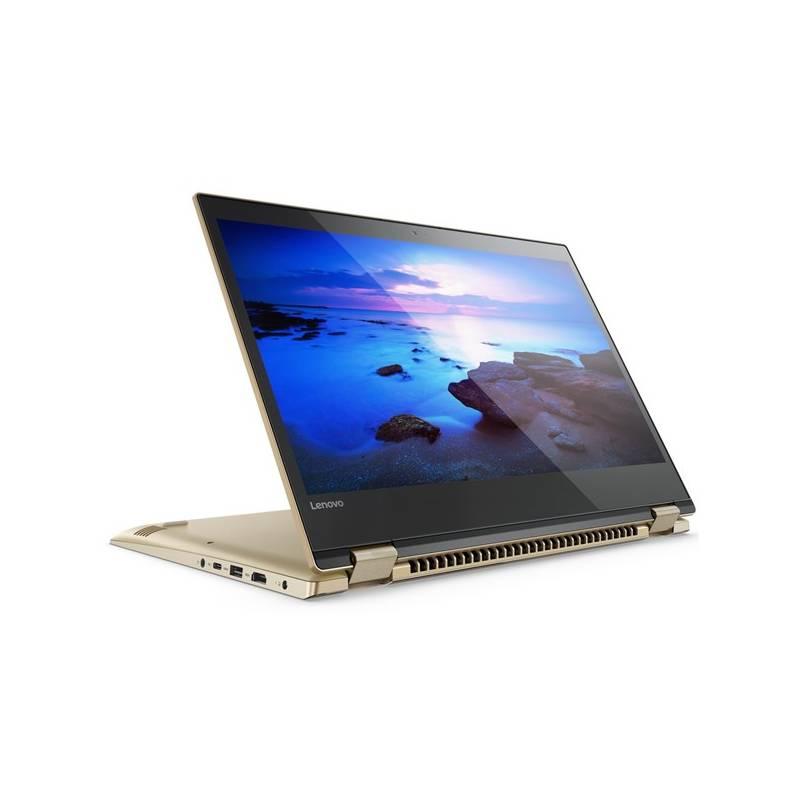 Notebook Lenovo YOGA 520-14IKB (80X8005ECK) zlatý Software F-Secure SAFE, 3 zařízení / 6 měsíců (zdarma) + Doprava zadarmo