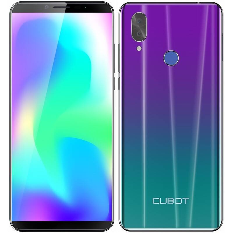 Mobilný telefón CUBOT X19 S (X19 S Gradient) fialový + Doprava zadarmo