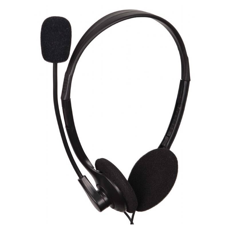 Headset Gembird MHS-123 (MHS-123) čierny