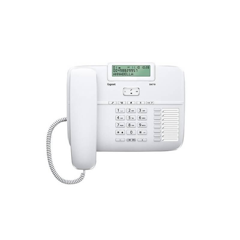Domáci telefón Siemens Gigaset DA710 (S30350-S213-R602) biely