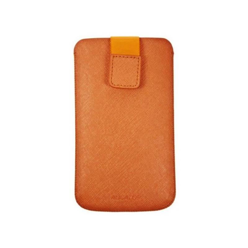Púzdro na mobil Aligator Fresh Neon univerzal (110x60x10mm) (POS0247) oranžové
