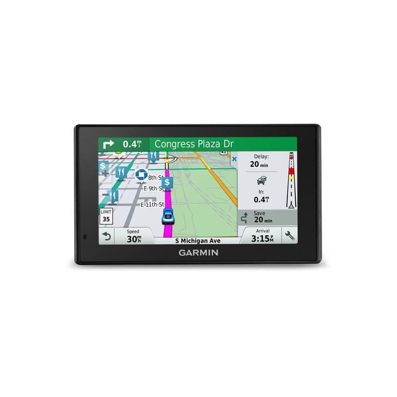 Navigačný systém GPS Garmin DriveSmart 60 Lifetime Europe45 čierna