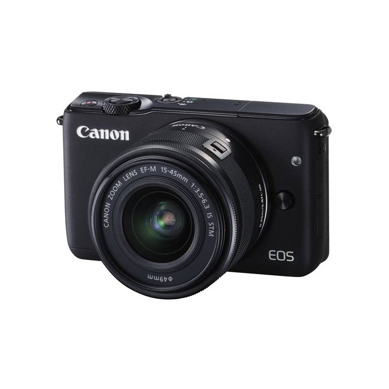 Digitálny fotoaparát Canon EOS M10 + 15-45mm STM čierny + Doprava zadarmo